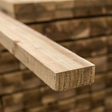 timber fence rail 38 x 88