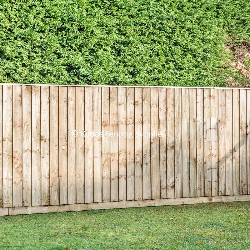 closed board fencing kit kudos fencing supplies uk. Black Bedroom Furniture Sets. Home Design Ideas