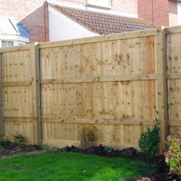 Closed board Fencing supplies swindon