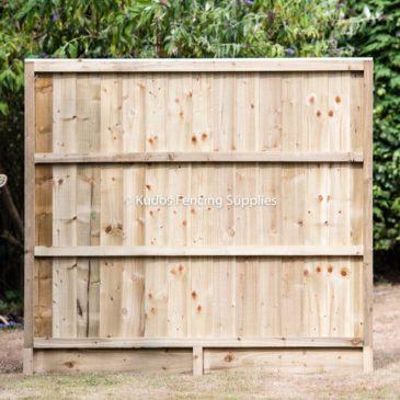 Gravel Board Fence Panel
