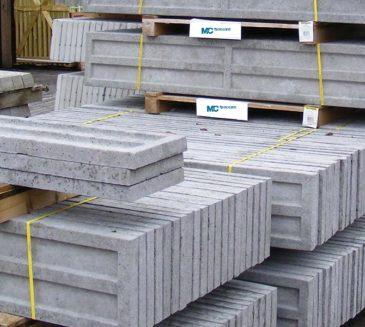 300mm High Concrete Gravel Boards