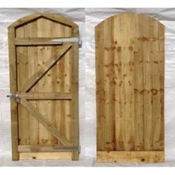Arch top closeboard gate