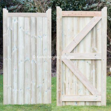 Solid mendip garden gate. Quality side gates.