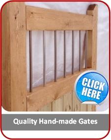 garden gates and driveway wooden gates