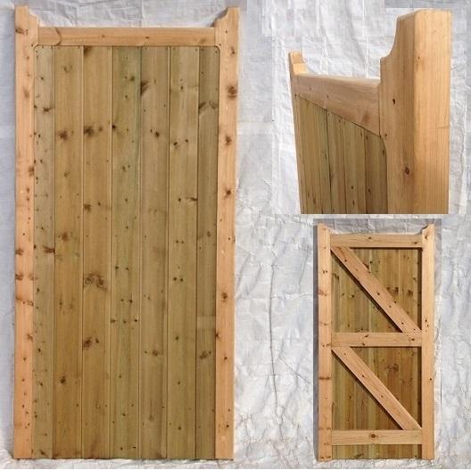 Frame Solid Mendip Side Gate Kudos Fencing Supplies