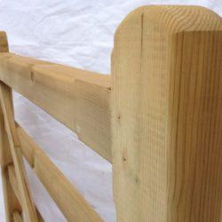 Wooden 5 Bar Gates