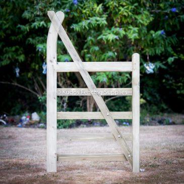 Curved Heel 5 Bar Gate