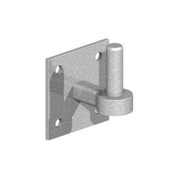 field gate hooks on plates 19mm pin