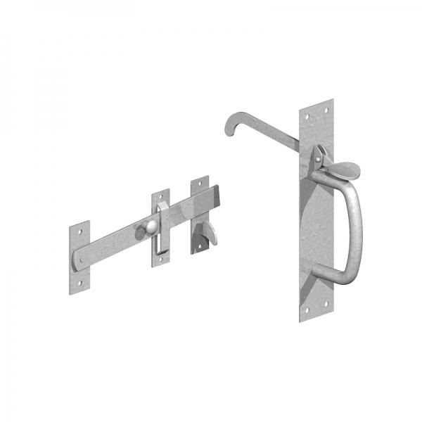 Suffolk Thumb Gate Latch Kudos Fencing Supplies
