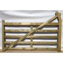 turned heel 5 bar gates