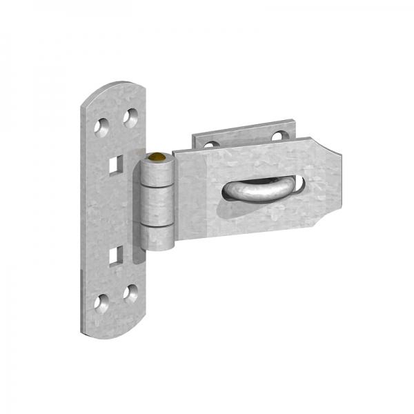 Hasp And Staple >> 6 Vertical Hasp Staple Lock