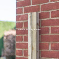 Gate Stop Batten or Wooden Slam Rail