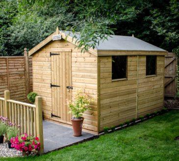 Apex sheds