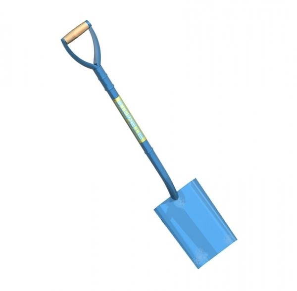 All steel shovel