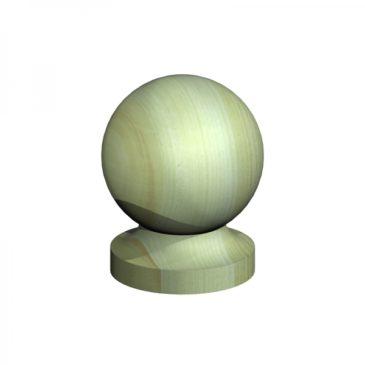 Ball top post cap