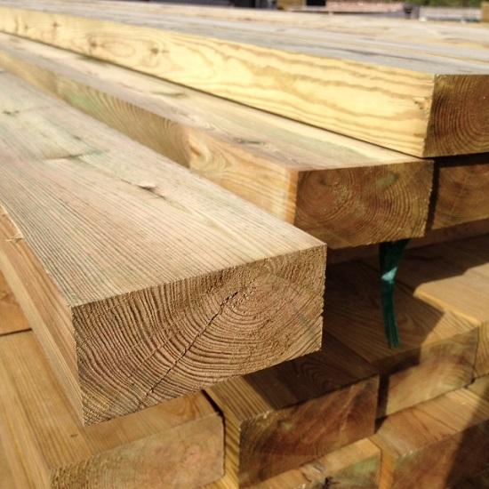 Par Redwood Timber 3 6m X 50 X 100 Kudos Fencing Supplies