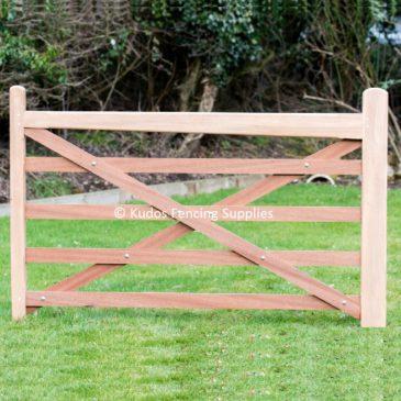 Hardwood 5 Bar Gates for Driveways