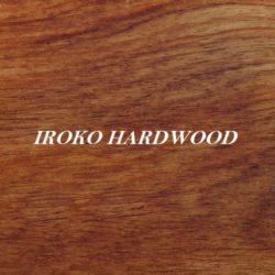 Iroko Hardwood Grain