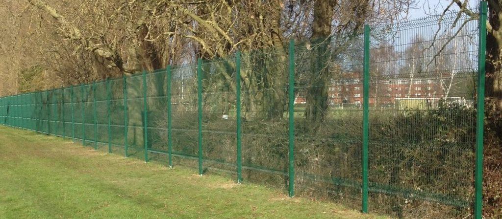 V mesh fencing, weld mesh