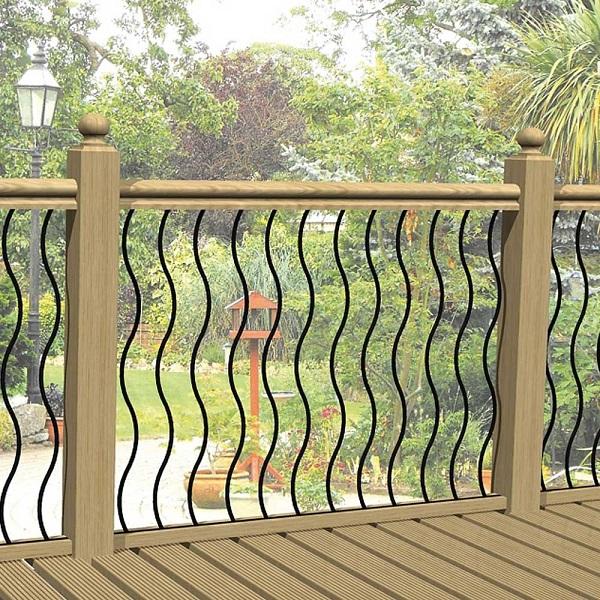 Metal Decking Panels ~ Wave metal decking panels kudos fencing supplies uk