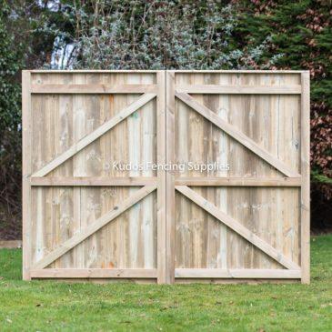 Quality t&g driveway gates