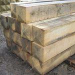 Buy hardwood oak gate posts
