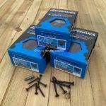 Ruspert Black wood screws