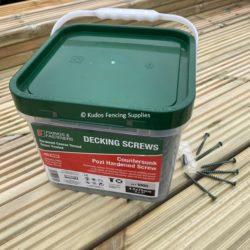 4.5 x 75mm Green Decking Screws