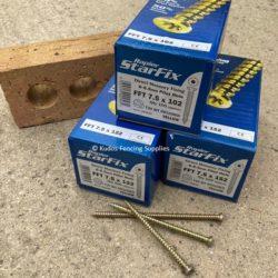 Masonry Concrete Screws 102mm, 122mm and 152mm